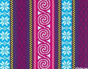 Fair Isle Stripe Fabric