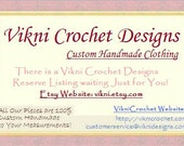 Reserved Listing for Stacy- Crochet Flower High Neck Top in Beige by Vikni Designs