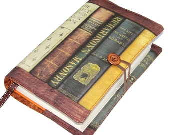 Large Size Bible Cover, Padded Book Cover, Antique books design EE, UK Seller, Hardback Books or Paperback Books