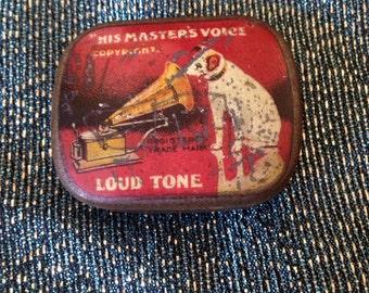 HMV His Master's Voice Gramaphone Needles Tim