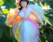 Pretty Spring Fairy /Guardian Angel mobile by Castle of Costa Mesa