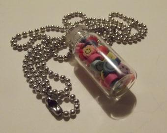 Jar of Happy Smiles Necklace
