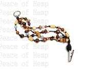 Beaded Hippie Clip Bracelet