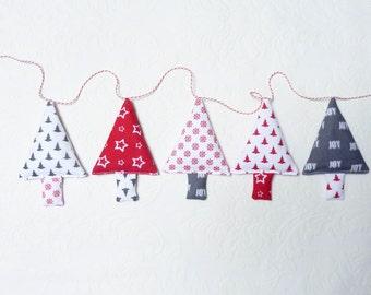 Christmas garland christmas trees christmas bunting stocking stuffer