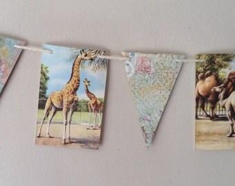 Animal Bunting, Zoo Animals, nursery decor