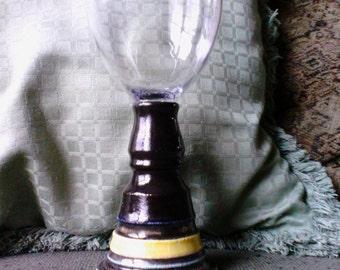 Plain and Simple pottery Forgiveness Glass