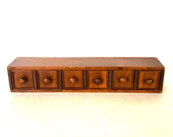 Antique file cabinet - Jewelry box