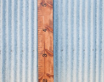 Wood Children's Growth Chart Height Ruler Baby Shower Gift