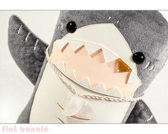 Giant Stuffed Shark shark plush | etsy