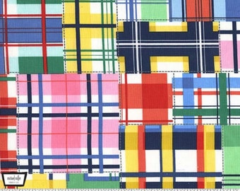Up and Away - Madras Patch Summer Plaid by Emily Herrick Designs from Michael Miller