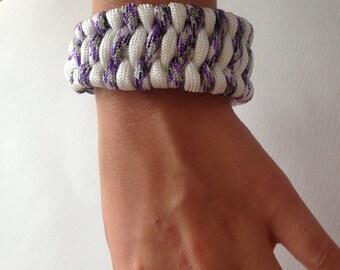 Survival Cuff Paracord Bracelet !