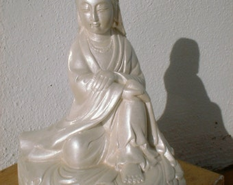 Pearl Quan Yin Goddess of Compassion a Female Bodisatva Buddha
