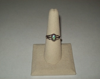 Sterling Silver Southwest Ring- 7 1/2 inch