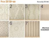 SALE Elegant Curtains- Drapery Panel Pair- Premier Prints Cloud Beige Linen Curtains- 25W or 50W x 63 84 96 108 120 inch Drapes Window Treat