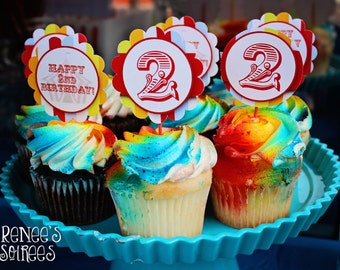 CARNIVAL Printable Birthday Collection - Customized - DIY Coordinating Design Accessories