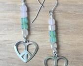 Wear Peace! Earrings - charity donation