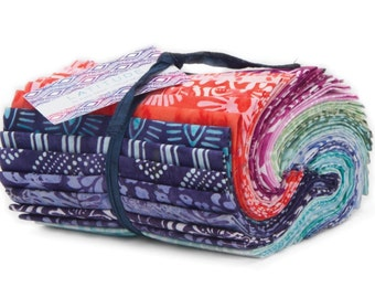 Latitude cotton fat 8th batik precuts by Kate Spain by Moda fabric