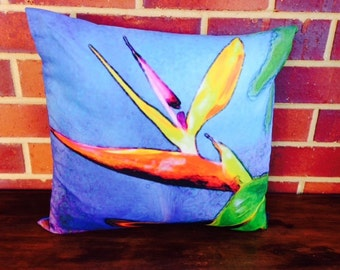 Unique funky cushion 45cm x 45cm complete with insert