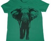 Kids Elephant T-Shirt Boys Girls Birthday Shirt Kids Birthday Gift Present Gift Idea for Child 1st Birthday Zoo Field Trip Shirt Elephants