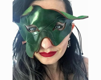 POISON IVY Mask Cosplay Costume Fancy Dress