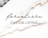 custom listing for CHAZ