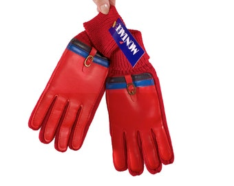 1970's Gloves // New Old Stock // With Tags // Size Medium
