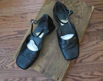 1960s Vintage Black Heels