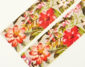 red blossom - Japanese Washi Masking Tape - 25mm Wide - 5.5 Yards