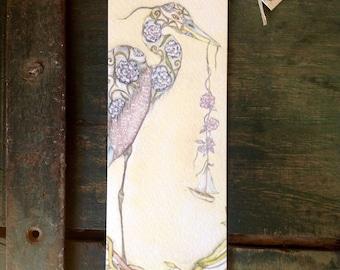 Heron bookmark