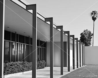 SALE - Midcentury Palm Springs - Photo print by Tayva Martinez - black and white photo