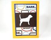 Dog Card, Dog Thank You Card, Dog Birthday Card, Dog Blank Card, Card for Dog Sitter, Card for Vet, Card for Dog Walker, Dog Lovers Cards