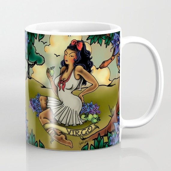 Tattoo Virgo Mug