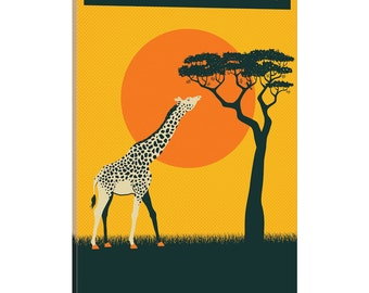 iCanvas Tanzania Gallery Wrapped Canvas Art Print by Jazzberry Blue