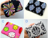 BIG Sale - Small zipper pouch / coin purse /card bag (padded) (ZS-GP8)