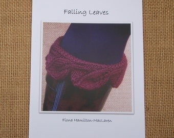 Knitting pattern- Falling leaves
