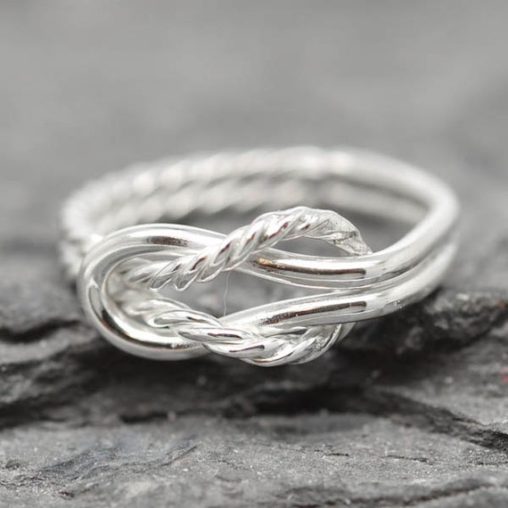Double Knot Promise Ring