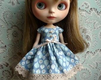 Trees or Tears Blue Blythe Dress | Pullip Dress