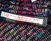 Muti colored rag rug