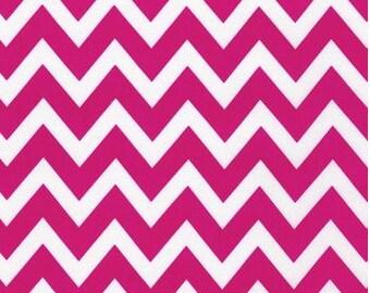 Hot Pink Remix Zig Zag Chevron From Robert Kaufman