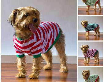 Dog Pajamas, Pajamas for Dogs, Family Christmas Pajamas, Matching Pjs