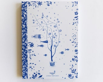 Notebook, Blue series, Sea of Wishes