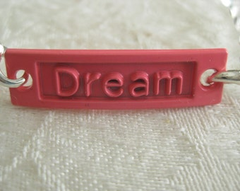 """Interchangeable Charms for DIY bracelets/Buy 1 or many/interchange to match your wardrobe """"DREAM"""""""