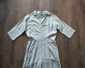 1950s jumpsuit . vintage 50s jumpsuit . medium