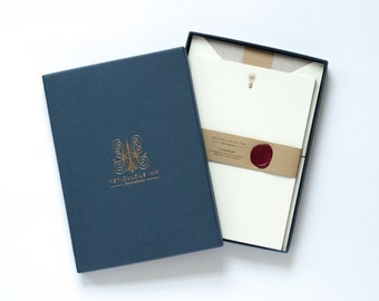 Lightbulb Letterpress Letterhead Box Set