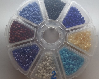 3mm Glass Seed Beads, Variety Pack, Approximately 150g, SB2
