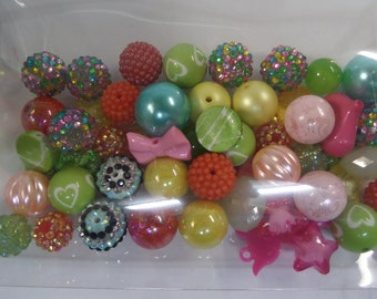 Destash, 18mm plus Beads, NOT Paired, 50 beads or more, NP50D