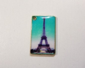 5CT. 19mm Paris Postcard Charm (Y12)