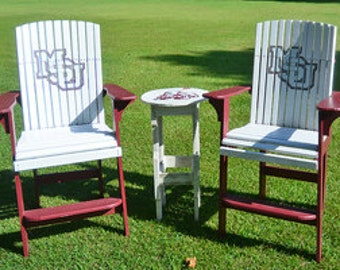 High back lawn chairs, Mississippi State University