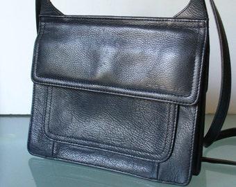 Vintage Fossil Crossbody Organizer Bag