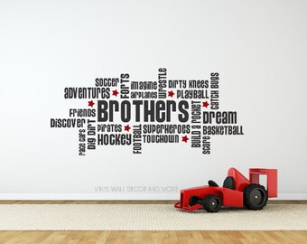 Brothers Decal- Brothers Quote